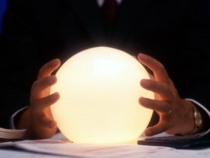 crystal ball for fortune telling