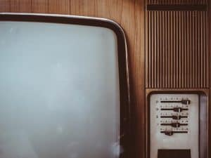 old time television