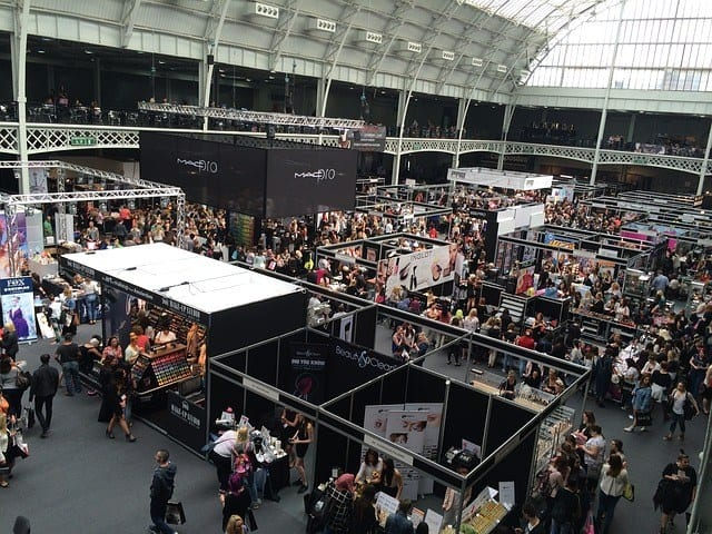image of trade show