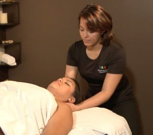 elements massage image from video