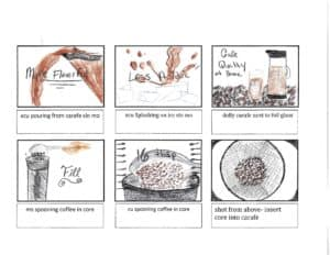 storyboard for video