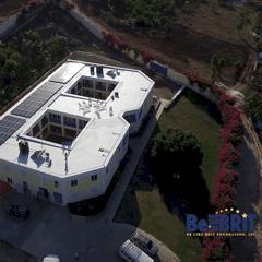 Aerial Photo of Orphanage in Haiti