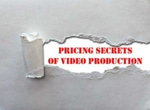 Paper ripped to expose words pricing secrets