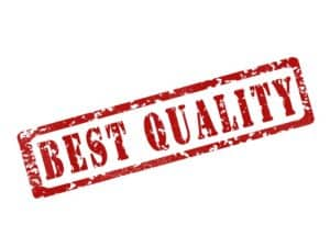 stamp stating best quality