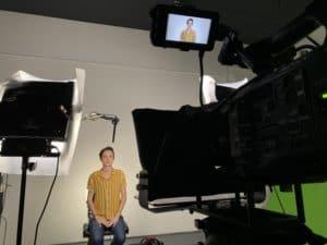 Studio Shoot in Plum Productions